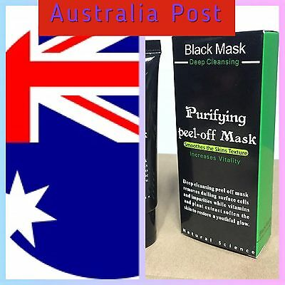 Blackhead Remover Black Mud Deep Cleansing Purifying Peel Acne Face Mask New