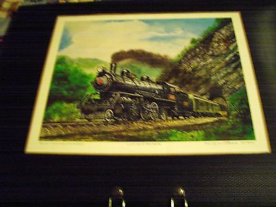 Vintage Great Trains of the Southland L&N 152 At Bee Rock Ron Flanary Signed & N
