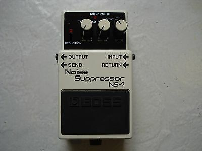 Boss NS-2 Noise Suppressor Pedal In Excellent Condition.