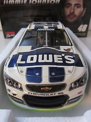 Jimmie Johnson #48 Lowe's It's Spring 2014 Lionel 1/24 Scale NASCAR Diecast