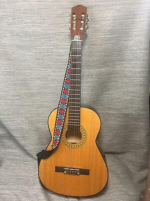 Full Size Classical Guitar - with Strap and Case  (2515)
