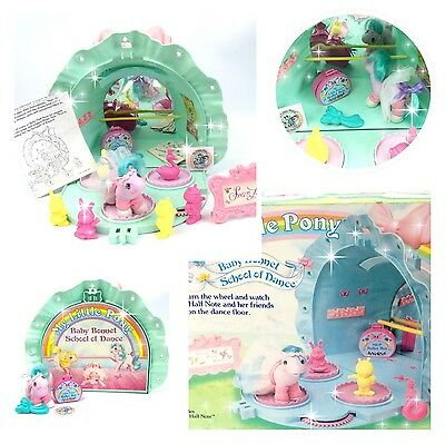 ⭐️ My Little Pony ⭐️ G1 Baby Bonnet School of Dance Playset w/Box & Accessories!