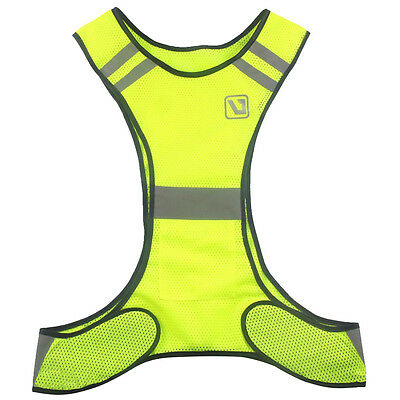 Fluorescent Yellow Visibility Reflective Vest Security Equipment Cloths