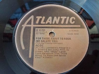 AC / DC - Irish Pressing - For those about to Rock