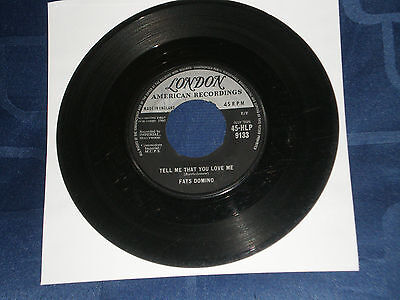 """Fats Domino - Tell Me That You Love Me - 1960 London 7"""" Single - Rock & Roll Gem"""