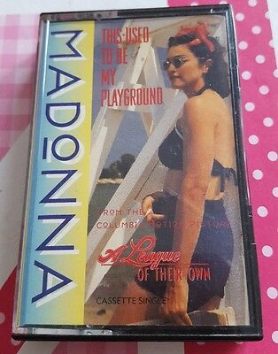 Madonna This Used To Be My Playground Cassette Single 1992 Sire