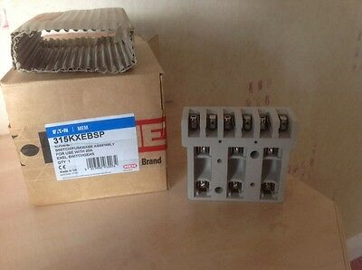 Mem Eaton 315Kxebsp Exel Switch/fusebase Assembly For 20A Exel Switchgear Bnib
