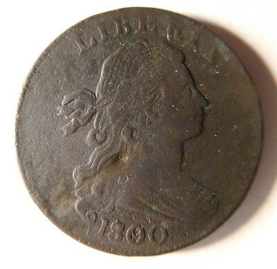 1800 Draped Bust Cent S-193 R-4