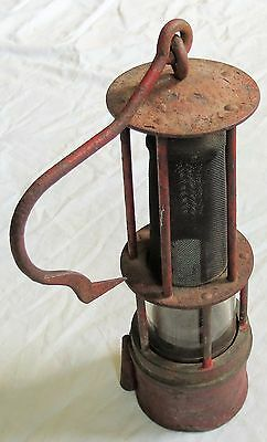 Schott Mining Lantern/Lamp Old Vtg Antique