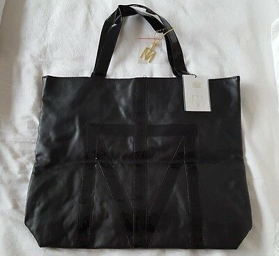Madonna Truth Or Dare Tote Shopper Black Bag/handbag With Charm. 2012 Promo Only