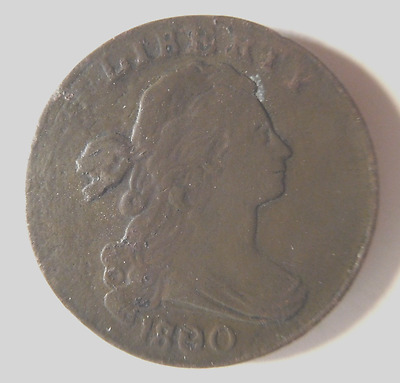 1800 Draped Bust Cent S-192 R-3
