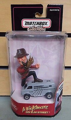 MATCHBOX Collectibles FREDDY KRUEGER & Van NIGHTMARE ON ELM STREET NIB (DH751)