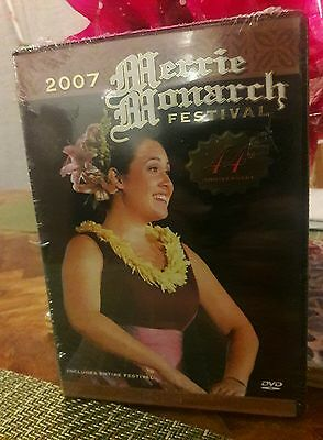 2007 MERRIE MONARCH FESTIVAL DVD HULA NEW SEALED 44th Anniversary Authentic