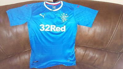 Glasgow Rangers Home Football Shirt 2016/2017 Size S