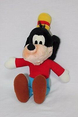 "Vintage Disneyland Goofy Stuffed 14"" Plush Toy Disney World Mickey Mouse Animal"