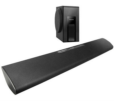 Panasonic SC-HTB18EB-K Sound Bar 120W Bluetooth Wireless Technology Slim Design