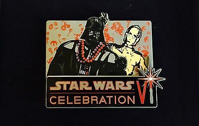 Star Wars Celebration Orlando Exclusive Darth Vader C3Po Scarce Pin Limited 200