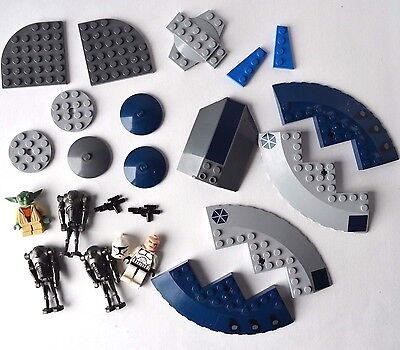LEGO Star Wars Armored Assault Tank 8018 replacement parts mixed lot yoda droid