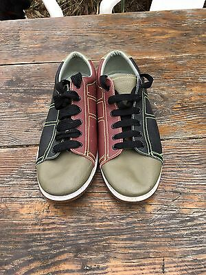 mens leather bowling shoes size US 11 UK 10