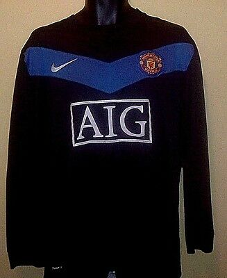 MANCHESTER UNITED Official LS Away Shirt 2009-2010 (XL)