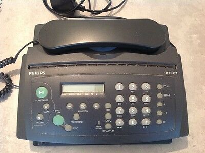 Philips HFC171 Compact 5-in-one phone fax machine