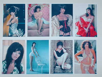 Joan Collins Hot Job Lot Set 10 Colour 6 X 4 Photographs Stockings