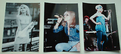 Debbie Harry Hot Job Lot Set 10  6 X 4 Photographs Stockings Blondie Nude