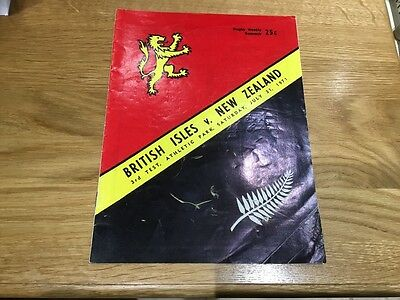 New Zealand v British Lions 1971 3rd Test