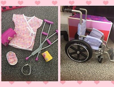American Girl Wheelchair Boxed /hospital Set . Our Generation