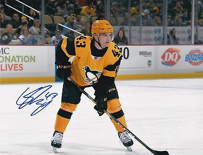 CONOR SHEARY - Pittsburgh Penguins - Signed 8x10 Photo W/COA!