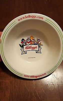 2001 Kellogg's Cereal Bowl-Vintage Collectible