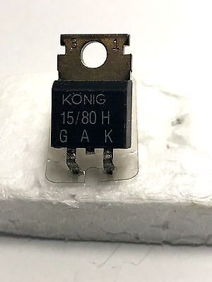 THYRISTOR 15 / 80H - KONIG - TO220AA - 900V - 5.5A -1 unit