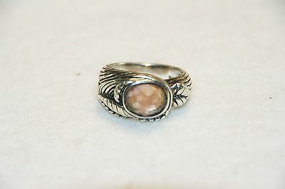 925 Sterling Silver Artisan Handcrafted Ametrine Ring Size 7 French Riviera