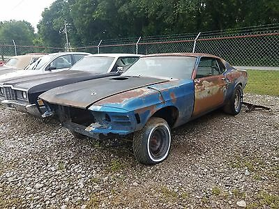 1970 Ford Mustang  1970 FORD MUSTANG MACH 1 428 COBRA JET 4 SPEED