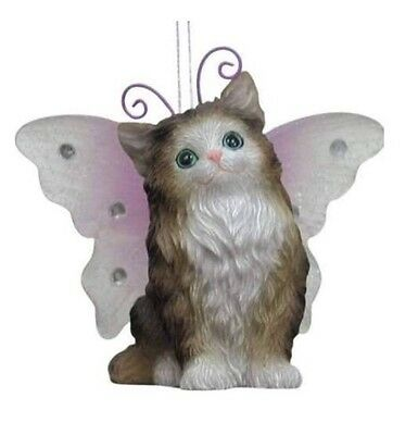 Westland Giftware Wings By Keith Kimberlin Wegie Kitten Ornament 21612