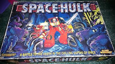 Space Hulk 2nd Edition rare games workshop 40k boardgame