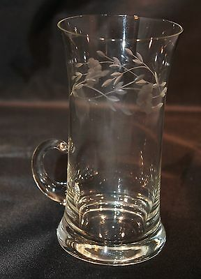 Princess House Heritage Handled Iced Tea Glass