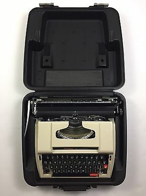 Vintage Brother Accord 12 Typewriter with Case