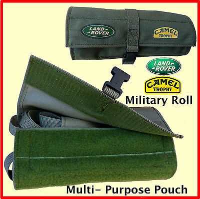 LAND ROVER-CAMEL TROPHY-Multi-Purpose Pouch Accessory Tool Kit Military Roll NEW