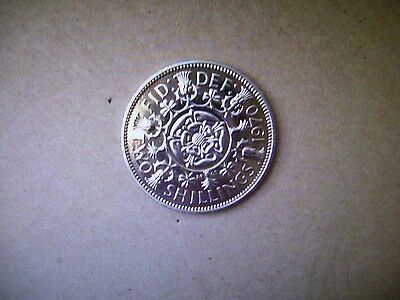 Rare BUNC 1970  Queen Elizabeth11  1970 Florin Two Shillings Coin,MINT AND SHINY