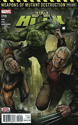 Totally Awesome Hulk #19 Weapons Of Mutants Destruction Marvel Comics Near Mint