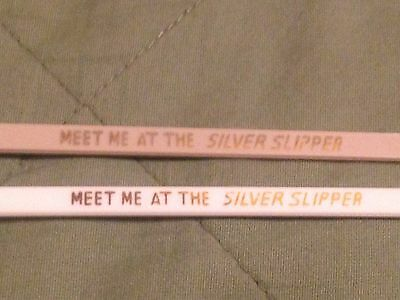 2 Cocktail Bar SWIZZLE STICKS Meet Me At The Silver Slipper Casino Las Vegas