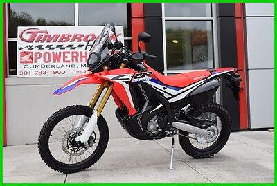 Honda CRF250L RALLY  2017 Honda CRF250L RALLY Brand New Must SEE