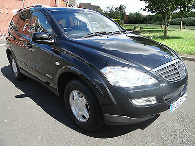 SSANGYONG KYRON 2.0 TD S 5dr 4X4 DIESEL LOW MILES TOW BAR LONG MOT ROOF BARS