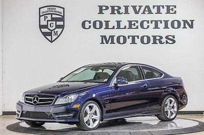 2014 Mercedes-Benz C-Class  2014 Mercedes Benz C350 Coupe Highly Optioned Low Miles Well Kept