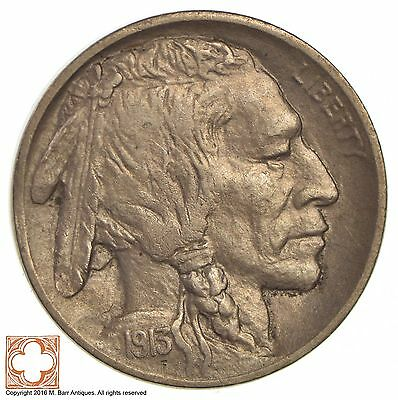 1913-D Buffalo Indian Nickel - Type 2 *084