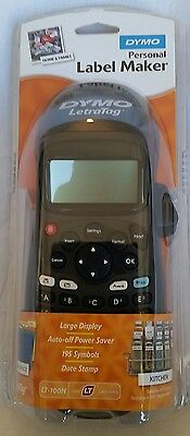DYMO LetraTag Personal Label Maker LT-100H black NEW