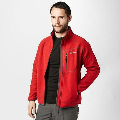 Berghaus Mens Fortrose Fleece Jacket Outdoor Clothing Red