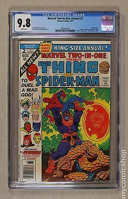 Marvel Two-in-One (1974 1st Series) Annual #2 CGC 9.8 0962659016
