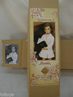 """Ruby Red Galleria Alexandra 12"""" In Motion Girl New Release - Ten Ping Family"""